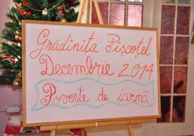 """Serbare ,,Poveste de iarnă""""- decembrie 2014-Grădinița ,,PIȘCOȚEL"""" Ploiești – galerie Foto-Video"""